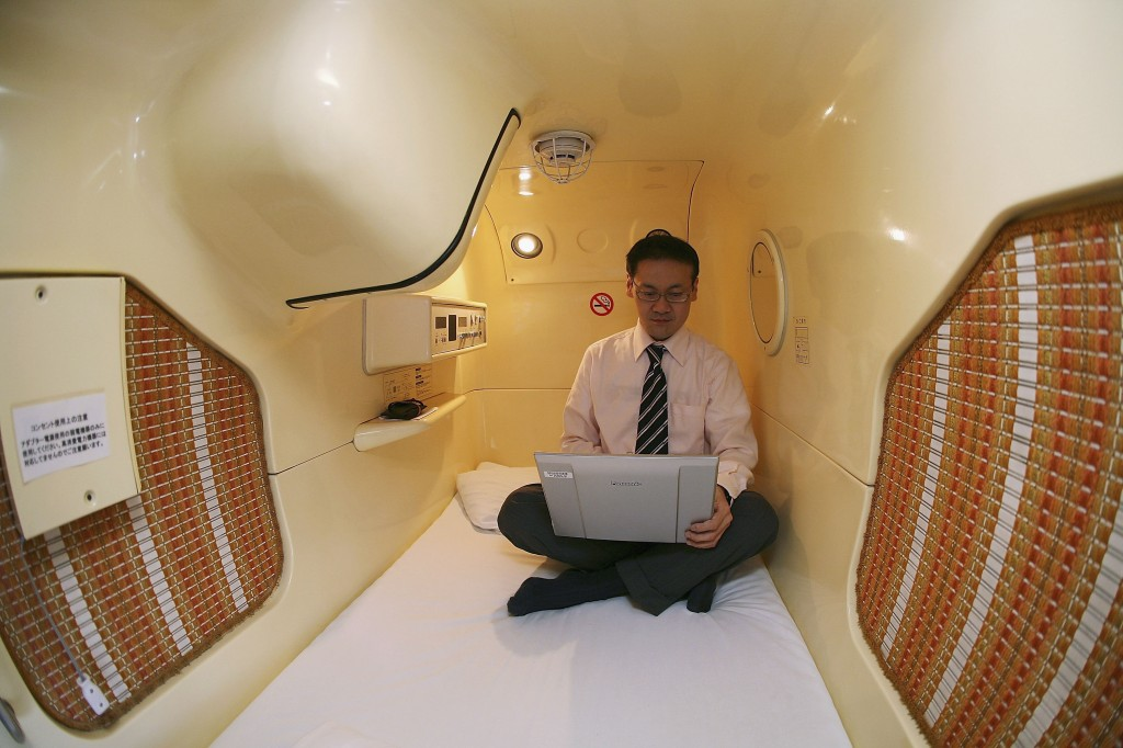 Tokyo's Tube Hotels Attracts Foreign Travellers